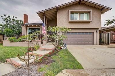 Yorba Linda Single Family Home For Sale: 4811 Granada Drive