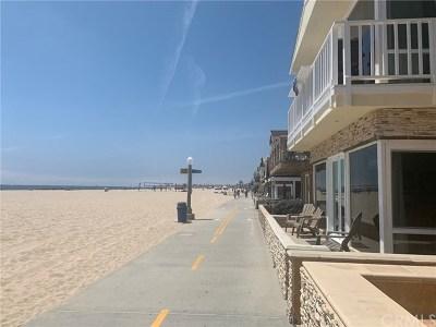 Newport Beach Rental For Rent: 3212 W Oceanfront