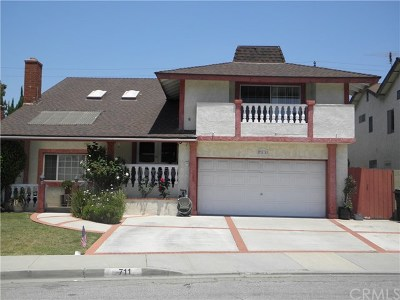 Torrance Single Family Home For Sale: 711 Gian Drive