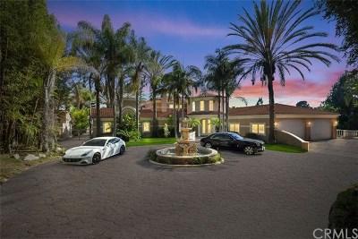La Habra Heights CA Single Family Home For Sale: $6,800,000