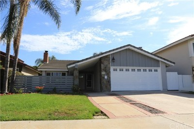 Irvine Single Family Home Active Under Contract: 3852 Balsa Street