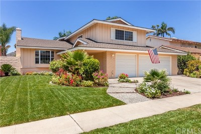 Tustin Single Family Home For Sale: 14381 Acacia Drive
