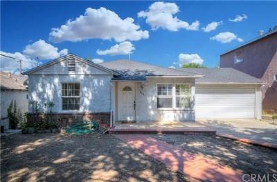 La Crescenta Single Family Home For Sale: 4841 La Crescenta Avenue