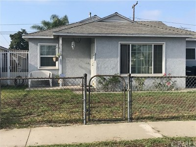 Bellflower Single Family Home For Sale: 9112 Los Angeles Street