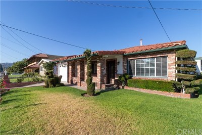 La Habra Single Family Home For Sale: 550 S Euclid Street