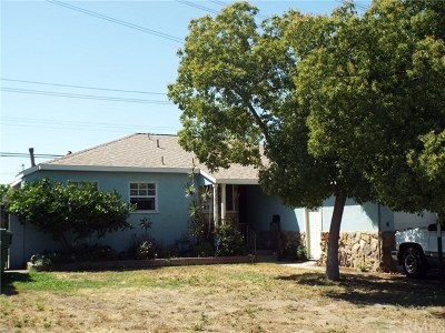 Whittier Single Family Home For Sale: 8263 Summerfield Avenue