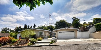 Fullerton Single Family Home For Sale: 1528 Shadow Lane