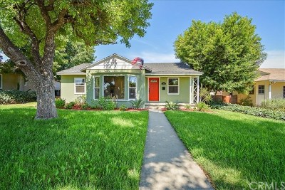 Upland Single Family Home For Sale: 614 N San Antonio Avenue