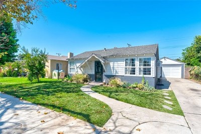 Anaheim Single Family Home For Sale: 521 N Rose Street