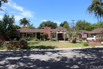 Fullerton Single Family Home For Sale: 3261 Arbol Drive
