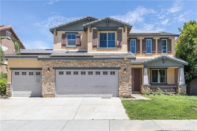 Lake Elsinore Single Family Home For Sale: 41025 Crimson Pillar Lane