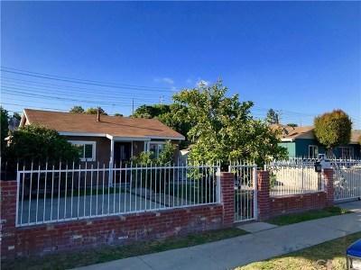 Carson Single Family Home For Sale: 813 E Lincoln Street