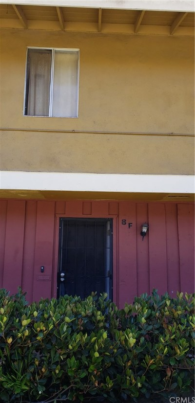Santa Ana Condo/Townhouse For Sale: 631 S Fairview Street #8F