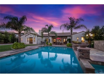 Chino Hills Single Family Home For Sale: 16487 Vellano Club Drive