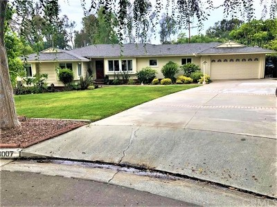 Fullerton Single Family Home For Sale: 3007 Arbol Drive