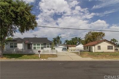 Hacienda Heights Single Family Home Active Under Contract: 15060 Poplar Avenue