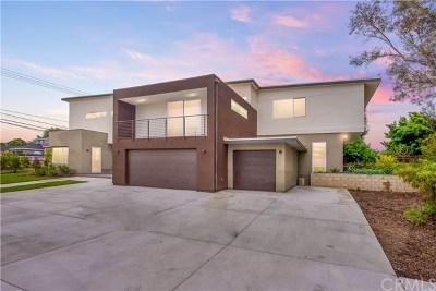 Fullerton Single Family Home For Sale: 1315 N Euclid