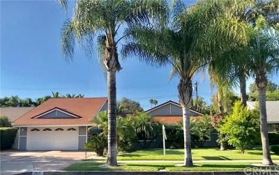 Santa Ana Single Family Home For Sale: 1613 Catalina Avenue