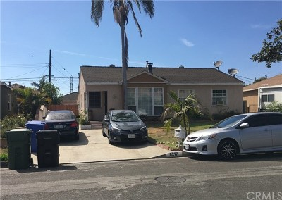 Whittier Single Family Home For Sale: 8217 Bradwell Avenue