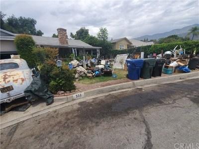 Monrovia Single Family Home Active Under Contract: 535 Ranchito Road