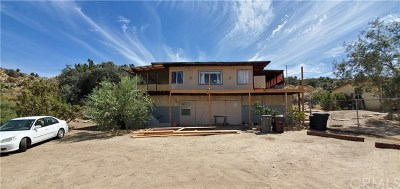 Yucca Valley Single Family Home For Sale: 54947 Navajo