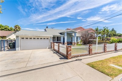 Covina Single Family Home For Sale: 17963 E Cypress Street