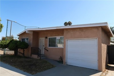Long Beach Single Family Home For Sale: 1480 Martin Luther King Jr Avenue