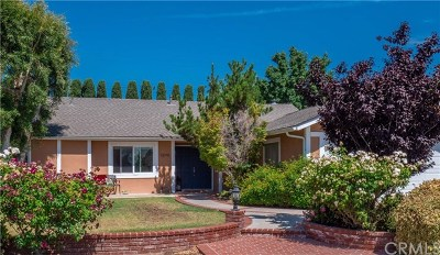 Tustin Single Family Home For Sale: 13191 Woodland Drive