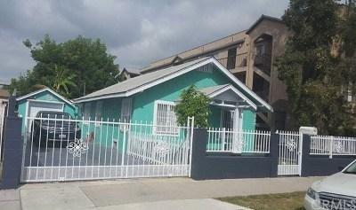 Long Beach Single Family Home For Sale: 2311 Earl Avenue