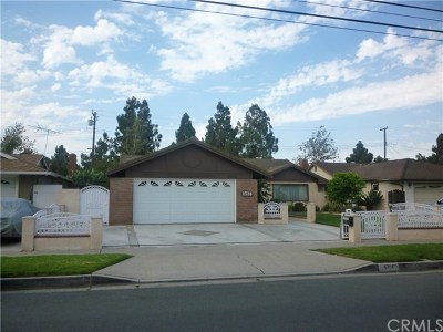 Santa Ana Single Family Home For Sale: 1714 W Adams Street