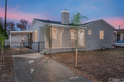 San Bernardino Single Family Home For Sale: 732 Niles Street