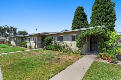 Fullerton Multi Family Home For Sale: 1932 W Valencia Drive