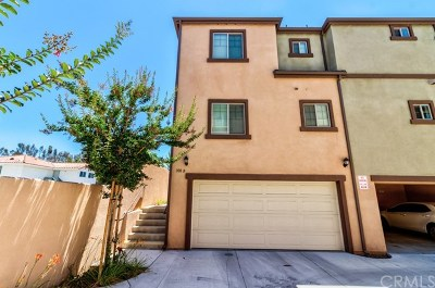 Condo/Townhouse For Sale: 308 S Monte Vista Street #B