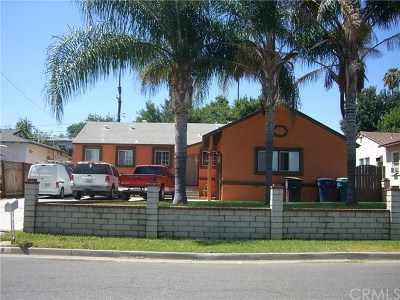 Riverside Single Family Home For Sale: 5056 Foothill Avenue