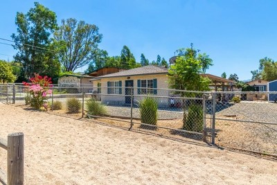 Norco Single Family Home For Sale: 1022 5th Street