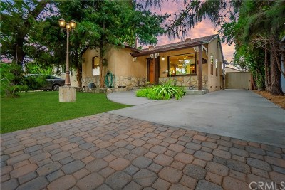 Long Beach Single Family Home For Sale: 1815 E Harding Street
