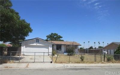 Fontana Single Family Home For Sale: 8153 Date Street