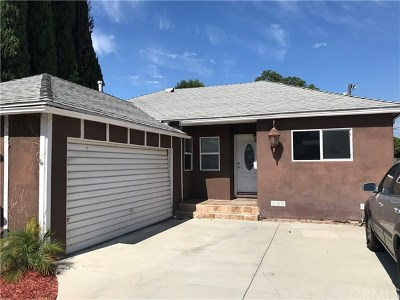 Torrance Single Family Home For Sale: 20931 Dalton Avenue