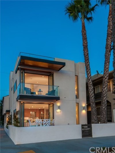 Long Beach Single Family Home For Sale: 5277 E Ocean Boulevard