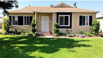 Downey Single Family Home Pending: 10825 Offley Avenue