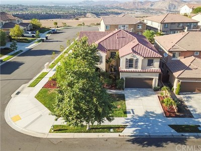 Corona Single Family Home For Sale: 7506 Sanctuary Drive