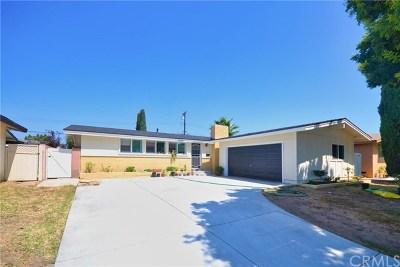 La Mirada Single Family Home For Sale: 14521 Calpella Street
