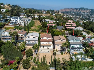 Los Angeles Single Family Home For Sale: 3479 Glenalbyn Drive