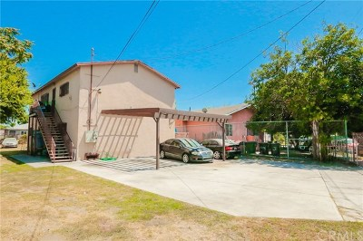 Los Angeles Multi Family Home For Sale: 10974 Willowbrook Avenue