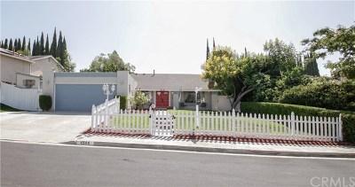 Yorba Linda Single Family Home For Sale: 4544 Via El Molino