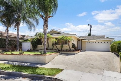 Los Angeles County Single Family Home For Sale: 14508 Sabine Drive