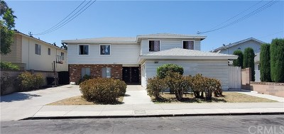 Garden Grove Multi Family Home For Sale: 12721 8th Street