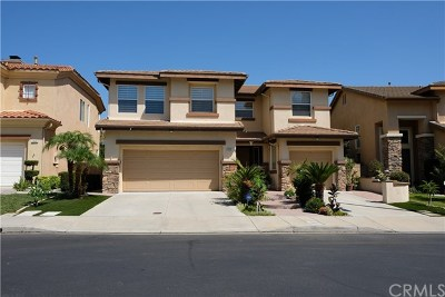 Chino Hills Single Family Home For Sale: 4956 Heritage Drive