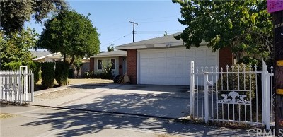 Santa Ana Single Family Home For Sale: 3022 W Lingan Lane