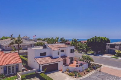 Dana Point Single Family Home For Sale: 1 Calle Prima
